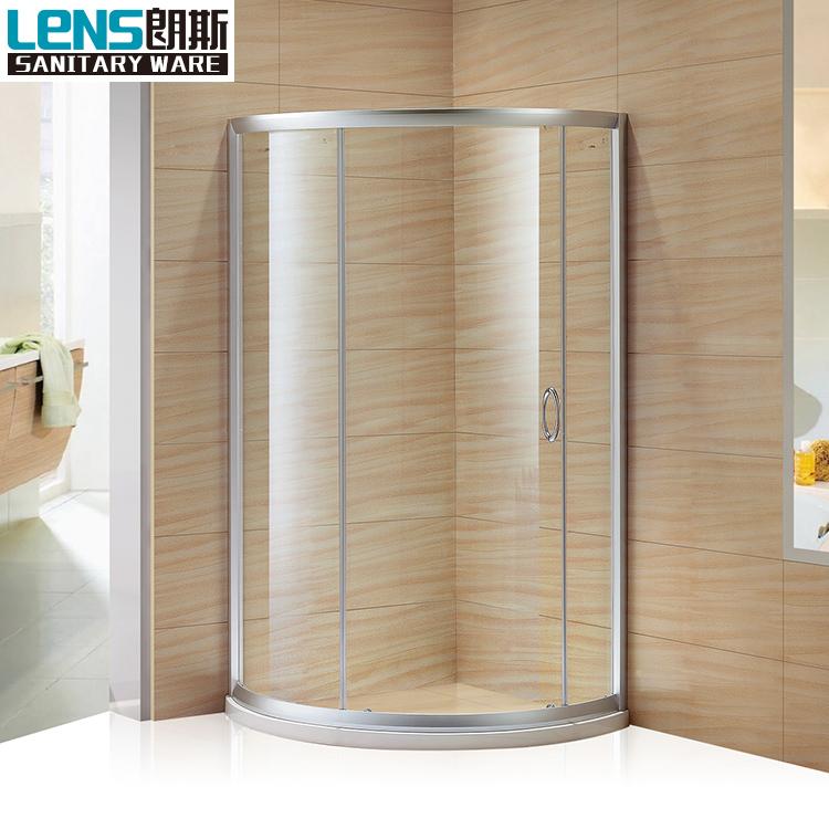 china aleacin de aluminio y vidrio templado puerta corredera de ducha