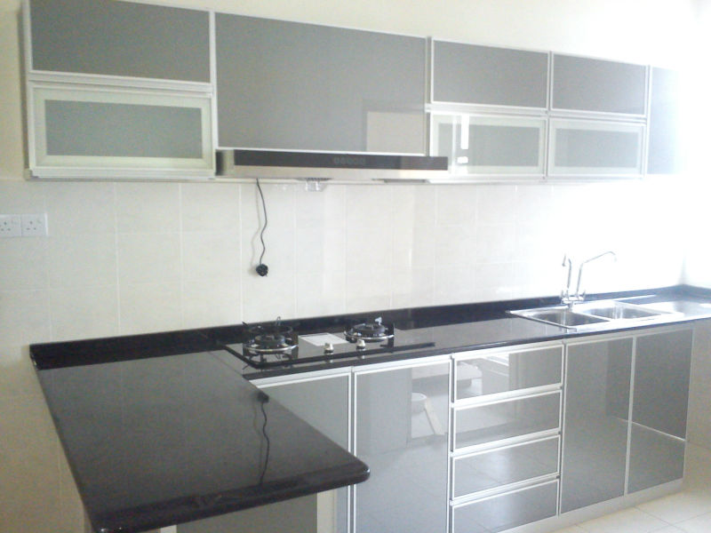 Aluminium Kitchen Cabinet - Buy Kitchen Cabinets And Wardrobes ...