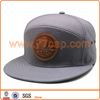 Leather Patch Wool/Acrylic 7 Panels Snapbacks Cap Wholesale