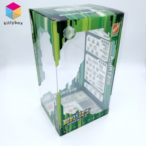 New Design High Clear Plastic Anime Figure Toy Packaging Box
