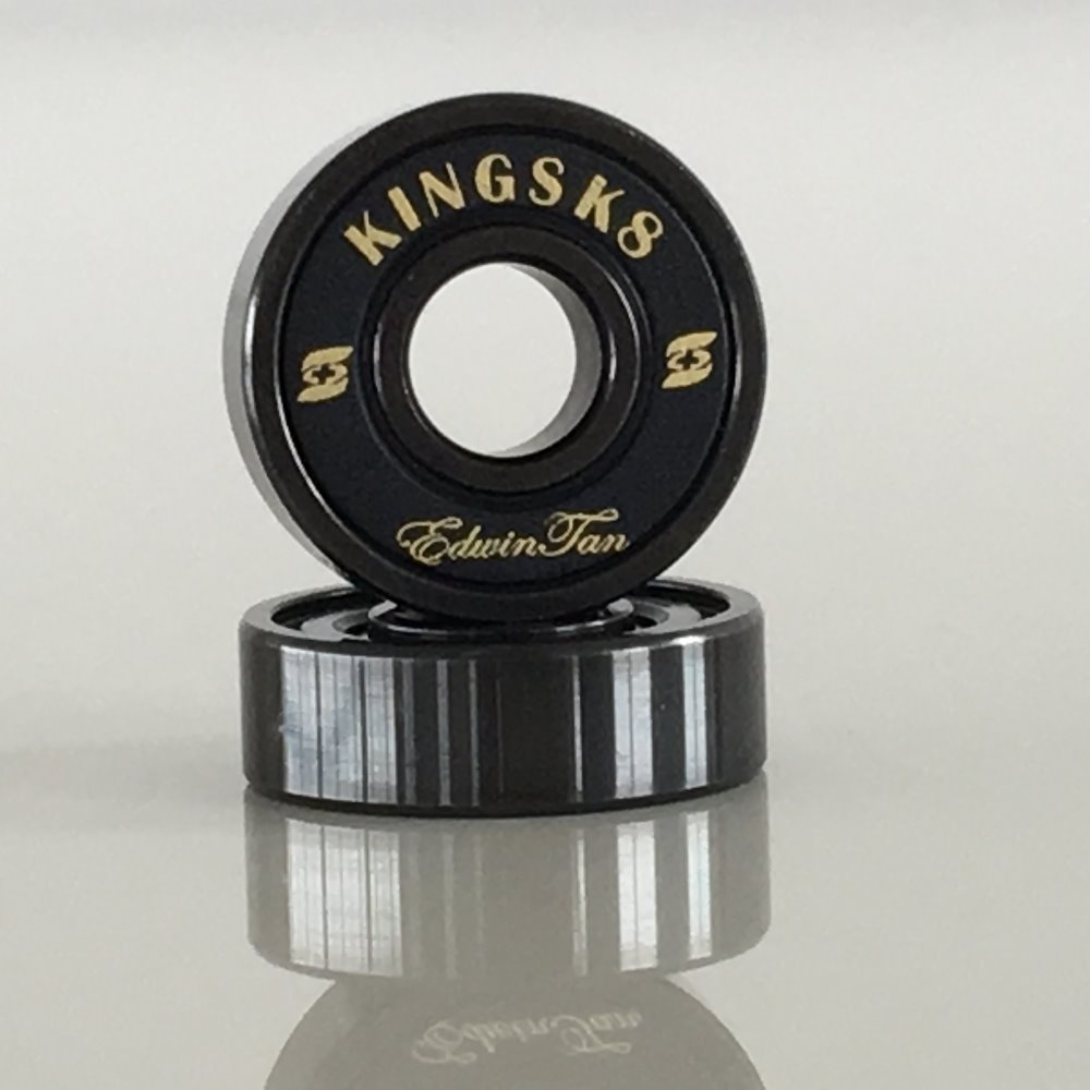 Skateboard Bearing,Manufacturer of Kingsk8 Black Si3N4 Ceramic Ball Skateboard Bearing