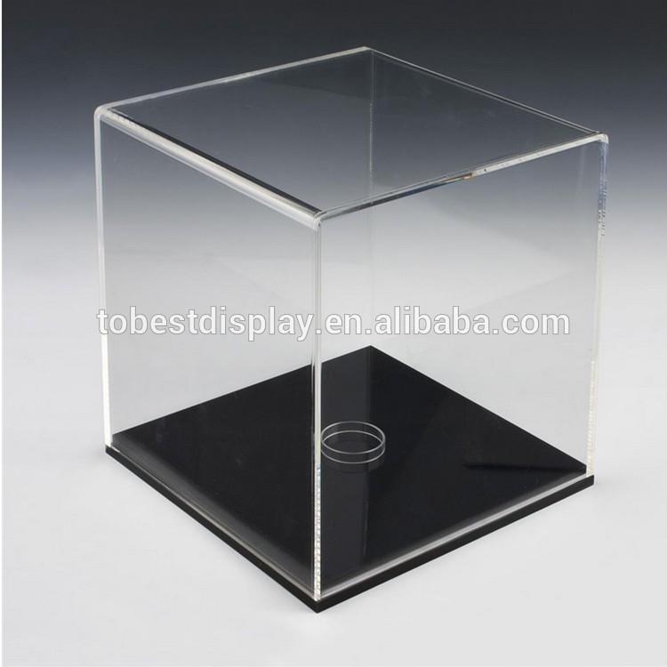 hot sale high quality clear acrylic box plexiglass display box acrylic display box
