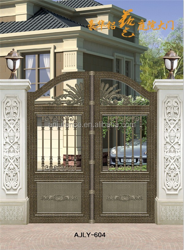 Ajly604 Simple Outdoor Gate Design With Iso 9001 Buy Gate