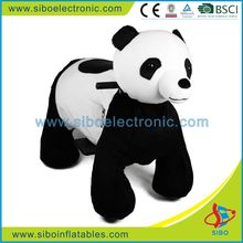 GM59 chinese panda mechanical stuffed scooter children play electric equipment animal rides