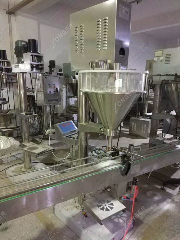 Factory Price New Design Protein Powder Filling Machinery