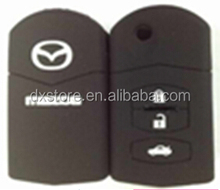 High quality and Best price for Mazda silicone car key cover Mazda 3 button key case