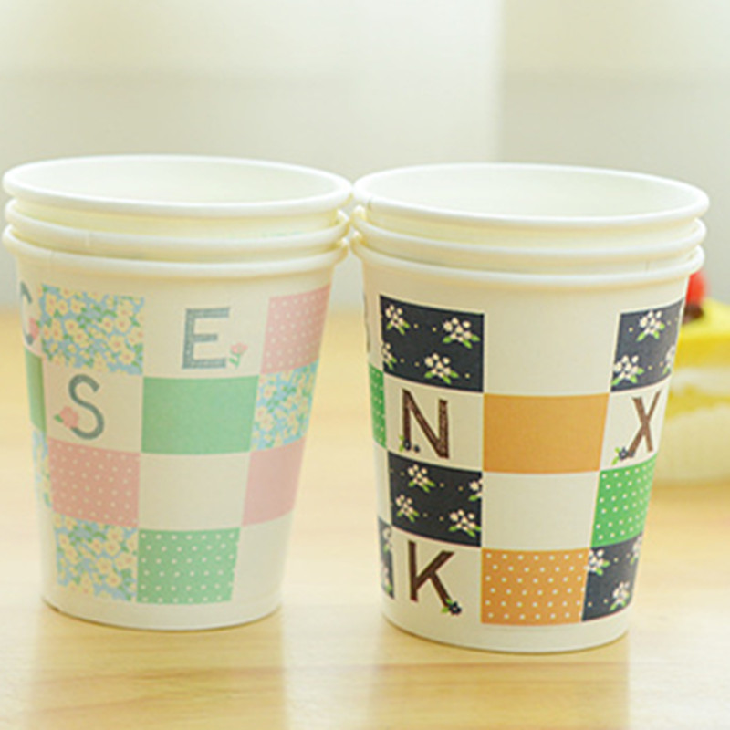 Disposable Paper Cup Coffee Cup Waterproof 7oz/8oz/9oz/10oz/12oz/16oz/20oz  Sample For Free - Buy Paper Cup For Starbucks,Middle Size Coffee Cups Free