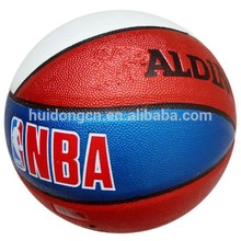 Blue Red White baloncesto professional quality PU Synthetic Leather size 7 basketball ball customized