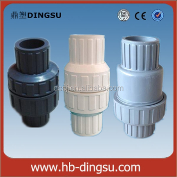 Vertical Plastic Swing Pvc Pipe Rubber Faucet Check Valve Price ...