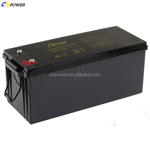 deep cycle long life solar energy agm battery 12v 200ah with low price