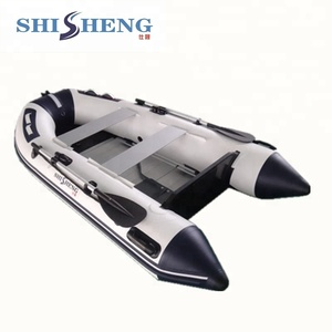 China rib hypalon PVC inflatable boat with motor