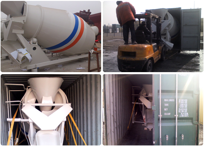 China Famous Brand 8 Cubic Meters Concrete Mixer Truck