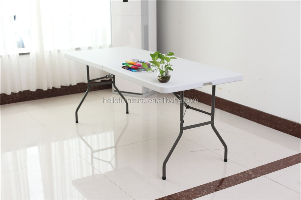Plegadora 6ft mesa comedor dise os mesa plegable bisagras for Mesa plegable diseno