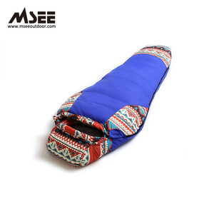 MSEE China National Style Outdoor compression massage sleeping bag sacks