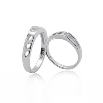 exclusive heart shaped wedding ring set - Heart Shaped Wedding Ring Sets