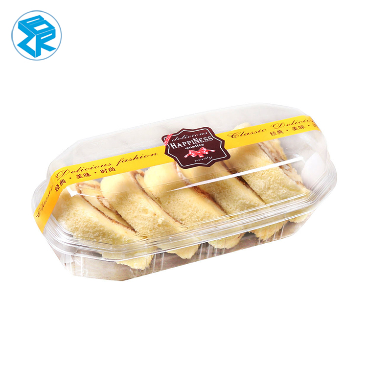 China Wholesale Market Blister Slice Cake Packaging