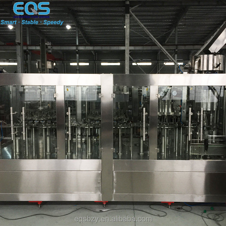 Soda filling machine Sparkling Water Filling Production Line