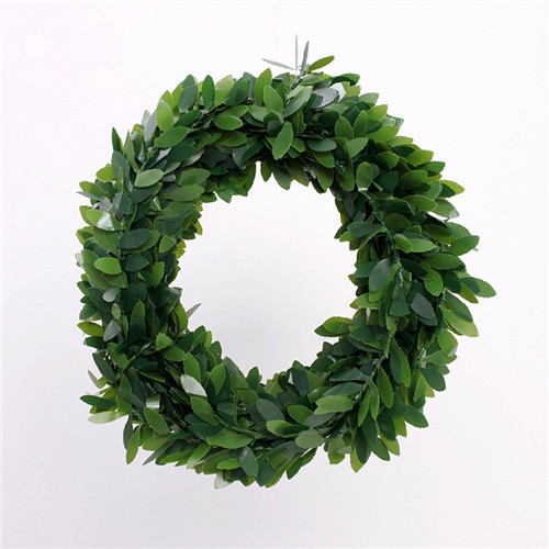 get quotations wire plastic emulation green leaves 80g christmas wreath bigsmallchristmas leaves 750cm - Small Christmas Wreaths