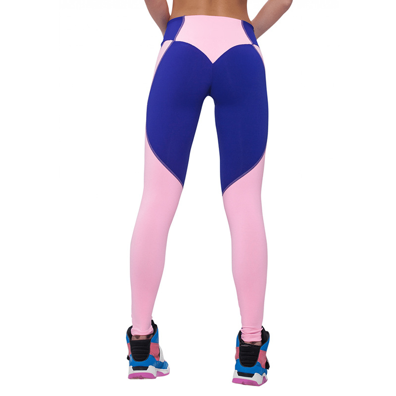 bfbb603cd85eb Active women's sport mesh patchwork high textile yoga leggings wholesale  women athletic wear jogger pants and