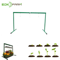 2019 New Design Diy Kits Solar Lamps Home mini vertical Farm Green Light Stand Flower Growing Bulb Bar for Indoor Plants