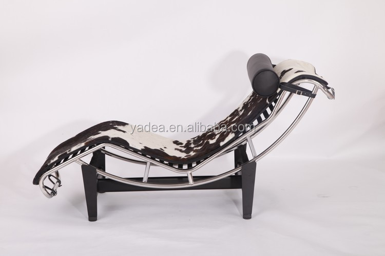 Chaise Lounge Chair In Cowhide, Chaise Lounge Chair In Cowhide Suppliers  And Manufacturers At Alibaba.com