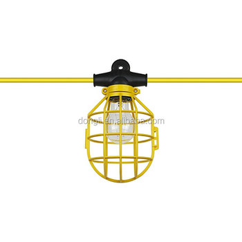 Construction Light String Awesome Construction String Light With Plastic Cage Buy Light String