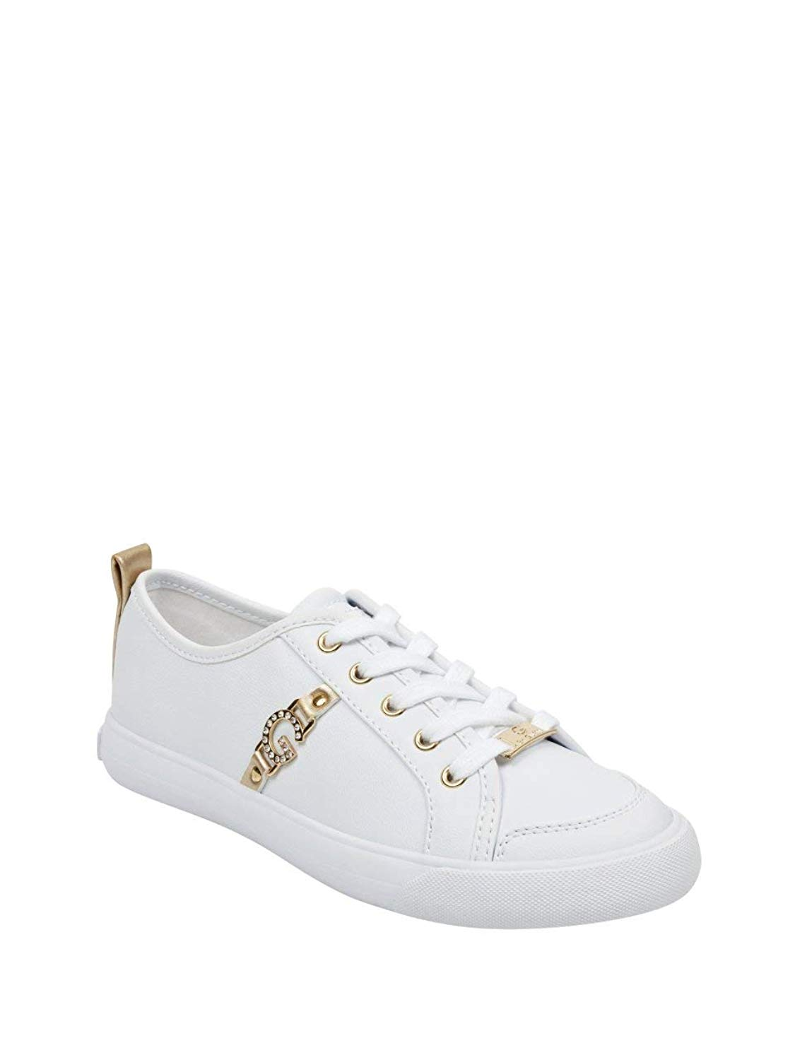Get Quotations · G by GUESS Women s Banx Low-Top Logo Sneakers 5d3693edd9