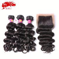 wholesale distributors virgin indian remy loose wave hair weave distributors