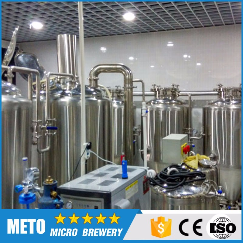 High Quality Stainless Steel Beer Brewing System Complete