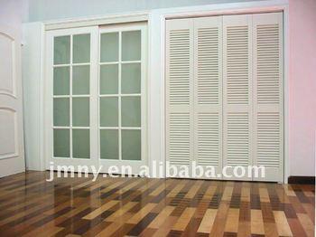 Madera puertas correderas de cristal de madera persianas - Puertas correderas de cristal y madera ...