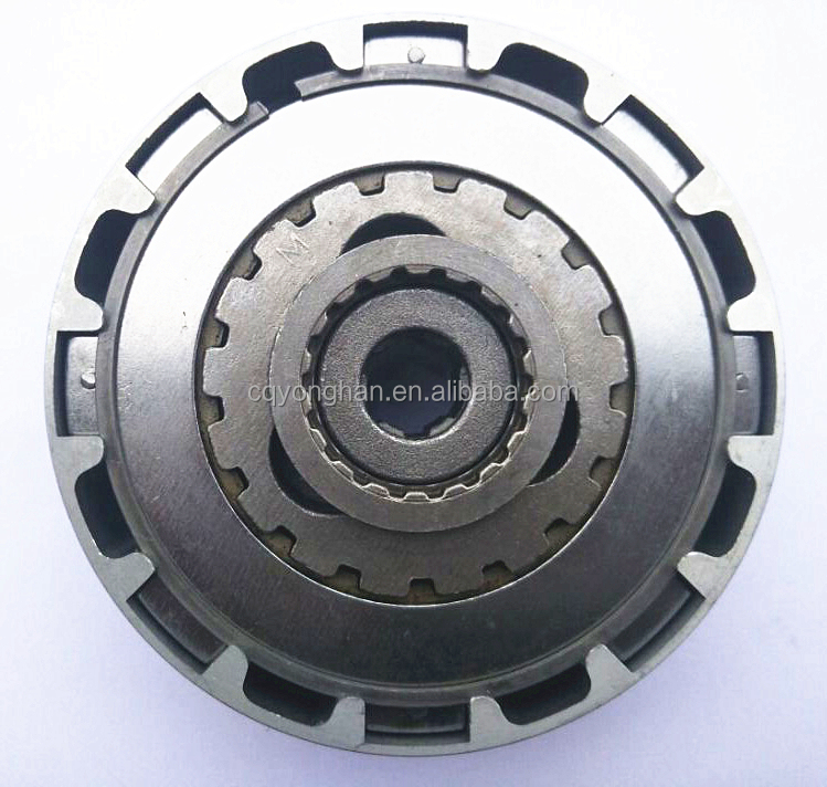 motorbike JH90 clutch assy, motorcycle spare parts clutch