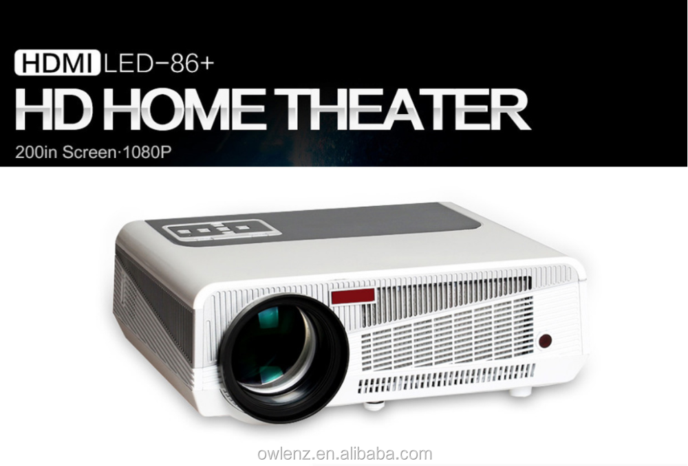 Wireless Connection Android Projector LED86+ Home Theater
