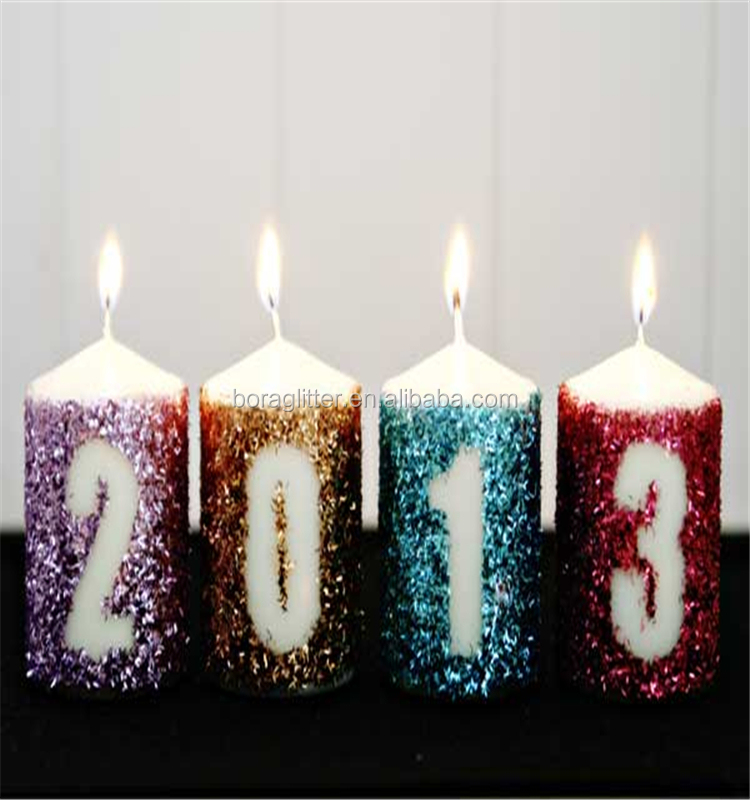 Glitter Number Candles Birthday Cake Candle