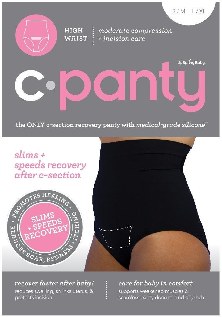 52f23f124 Get Quotations · UpSpring C-Panty High Waist C-Section Support