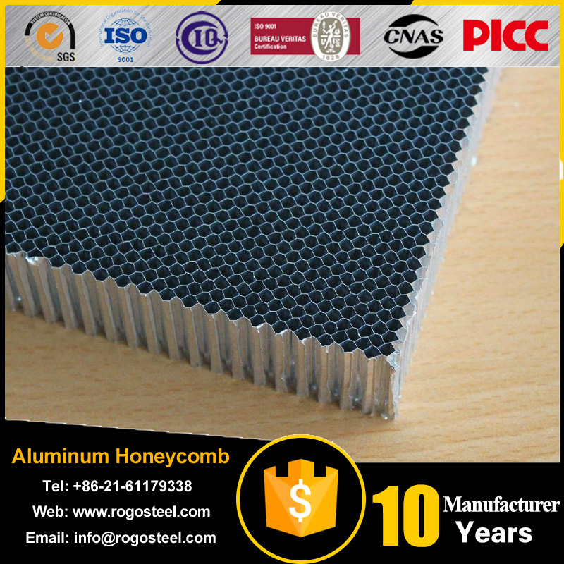 Aluminum Foil Thickness 0.04-0.08Mm Honeycomb Sandwich Panel Suppliers With 15Mm
