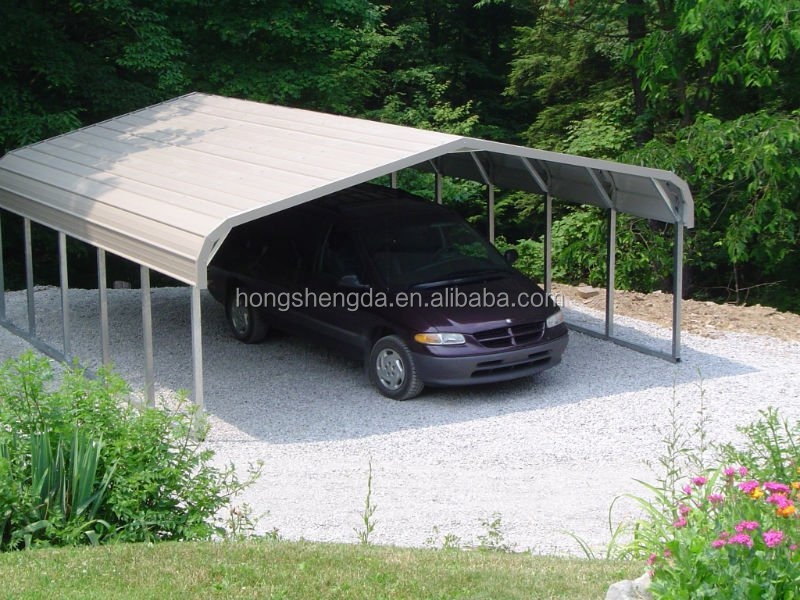 Delightful Lowes Used Portable Metal Car Garage Canopy Tents Carports For Sale