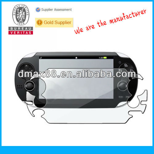 Video games screen protectors for PS vita oem/odm(High Clear)