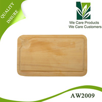 Wholesale Custom Organic Smooth Solid Carving Wood Chopping Board
