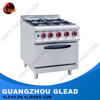 Restaurant Wholesale Price Electric Stove Hot Plate 4 Burner Table Top Gas  Cooker