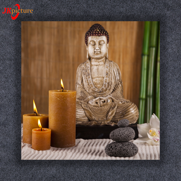 Customized Antioxidant Buddha Jesus LED Religion Light Up Box Wall Art Picture Living Room
