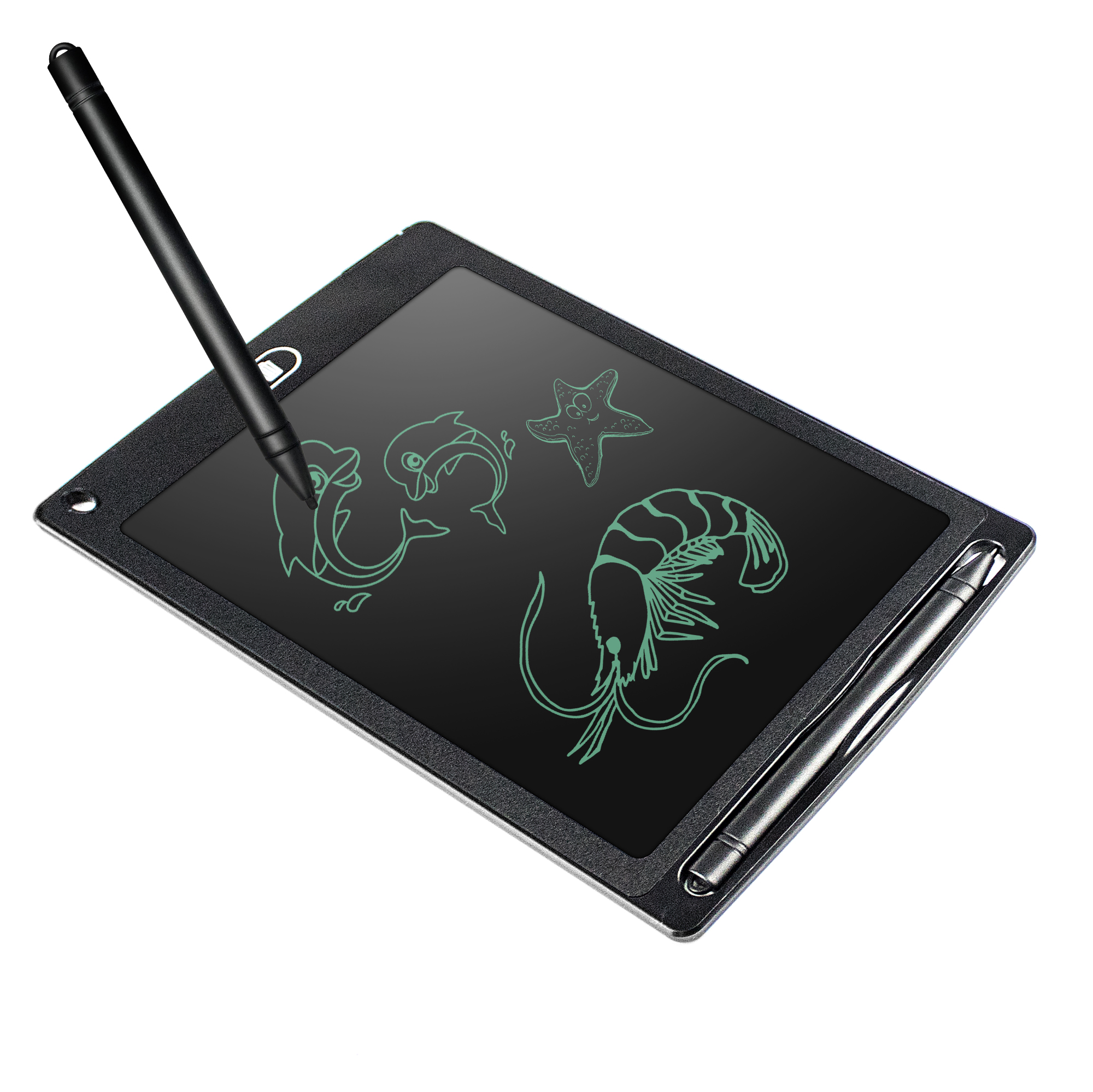 kids erasable drawing board/6colors 8.5 inch lcd writing tablet
