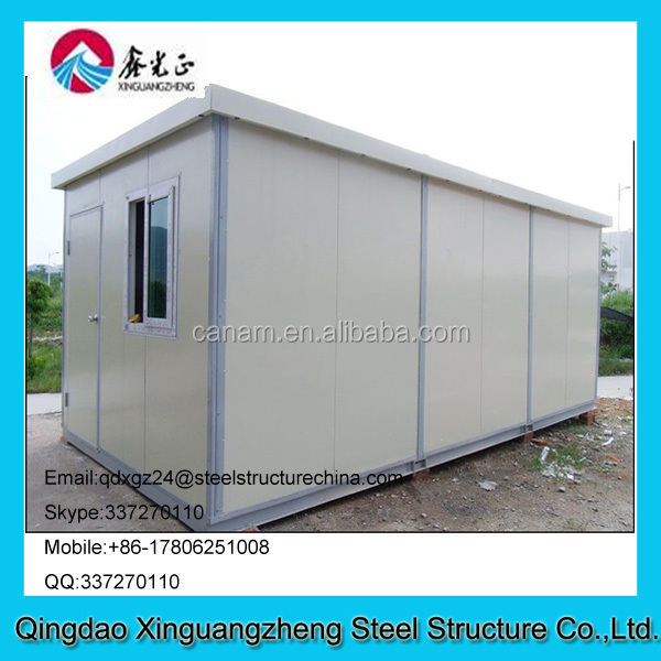 Prefabricated container house project for dormitary and refugee camp