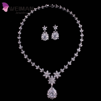 big set com at necklace and fancy new diamonds alibaba showroom leaf diamond manufacturers suppliers trendy