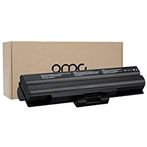 OMCreate 9-Cell Laptop Battery for Sony Vaio VGN-AW11M/H VGN-AW11S/B VGN-AW11XU/Q VGN-AW11Z/B VGN-AW170C VGN-AW19 VGN-AW19/Q VGN-AW21M/H, fits P/N VGP-BPS21A VGP-BPS13B/Q VGP-BPS13B VGP-BPS13B/S