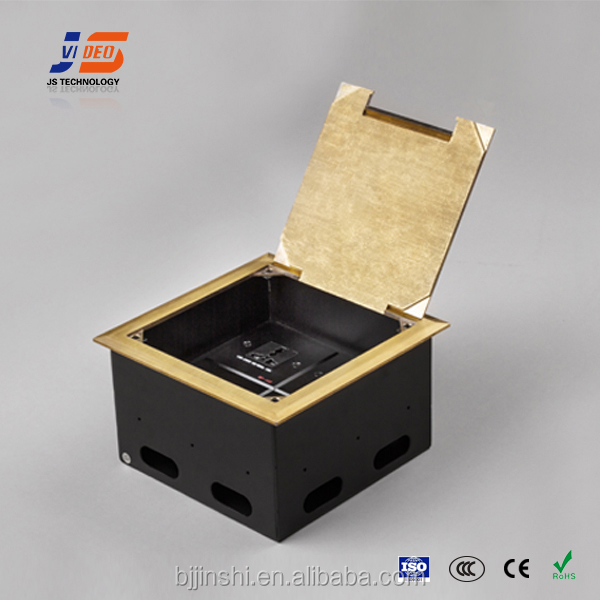 Js Dc146 Power And Data Recessed Concrete Floor Box   Buy Floor Box,Floor  Box,Data Floor Box Product On Alibaba.com