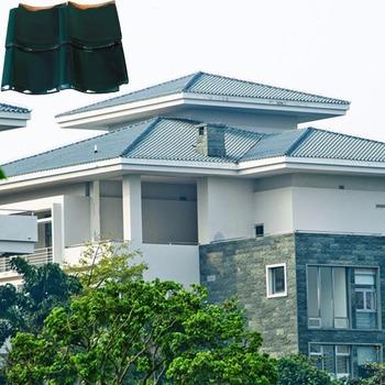 J1 305x305mm nouvelle type haute qualité bleu maison toiture au nigeria