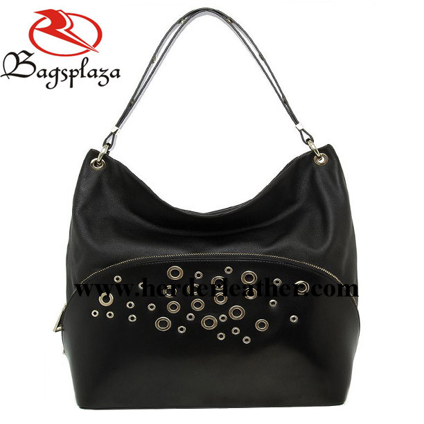 2016 Bag China Suppliers Black Eyelet Shoulder Bag College Bags ...