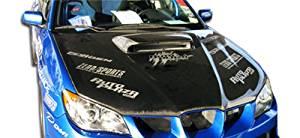 2006-2007 Subaru Impreza WRX STI Carbon Creations STI Look Hood - 1 Piece