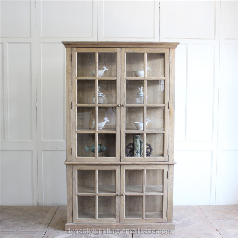 Reclaimed Furniture Solid Wood Bookcase