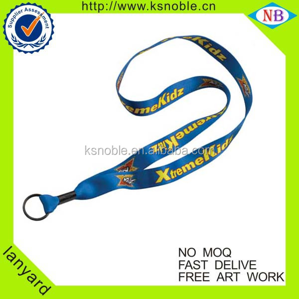 Manufacture ID card holder custom polyester printed lanyard